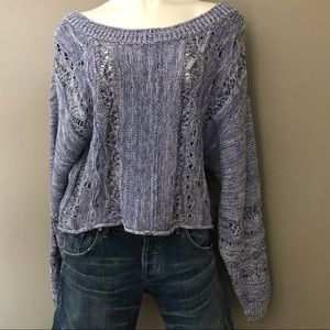 NWT   MELROSE AND MARKET   CABLE KNIT SWEATER F24
